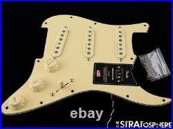 Fender American Ultra Stratocaster LOADED PICKGUARD Strat S1 Noiseless USA Aged