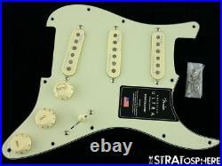 Fender American Ultra Stratocaster LOADED PICKGUARD Strat S1 Noiseless USA Mint