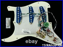 Fender American Ultra Stratocaster LOADED PICKGUARD Strat S1 Noiseless USA TORT