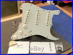 Fender American Vintage'62 RI Strat LOADED PICKGUARD Mint Green & USA Pickups