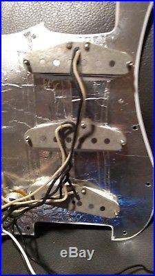 Fender American Vintage'65 Jimi Hendrix Strat Pickups Loaded Voodoo Pickguard