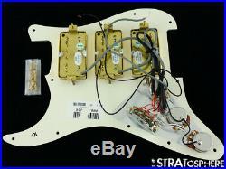 Fender Blacktop HHH Strat LOADED PICKGUARD Alnico Humbuckers Stratocaster Parch