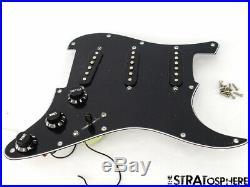 Fender Buddy Guy Strat LOADED PICKGUARD Stratocaster Black Prewired