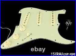 Fender CRAY Strat LOADED PICKGUARD + CUSTOM SHOP PUs Stratocaster Mint Green
