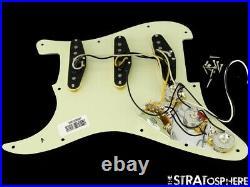 Fender CRAY Strat LOADED PICKGUARD & CUSTOM SHOP PUs Stratocaster Mint Green