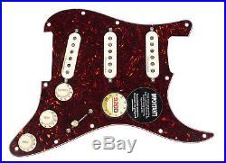 Fender Clapton Vintage Noiseless Loaded Strat Pickguard Tortoise / Aged White