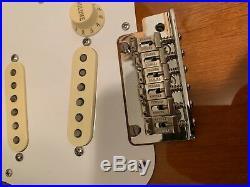 Fender Classic Player 50s Strat BODY & Loaded 57/62 Pickguard