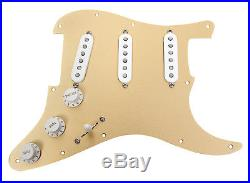 Fender Custom'54 Gold Anodized Loaded Pickguard for Strat
