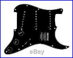 Fender Custom Fat 50's Loaded Strat Pickguard BK/BK