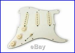 Fender Custom Shop 69 Pickups Loaded Strat Pickguard Aged Cream on Parchment USA