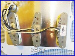 Fender Custom Shop Abby 69 Pickups Loaded Strat Pickguard All Mint Green USA