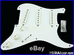 Fender Custom Shop Clapton Strat LOADED PICKGUARD Stratocaster Noiseless +Boost