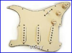 Fender Custom Shop Fat 50s Loaded Strat Pickguard All Aged Cream Made in USA