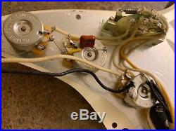 Fender Custom Shop Strat LOADED PICKGUARD USA Stratocaster American Abby 11 hole