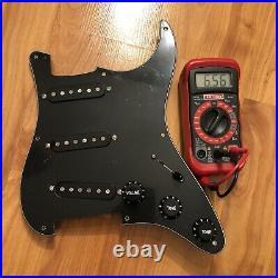 Fender Custom Shop Texas Special Set Loaded Prewired Strat Pickguard Pickups