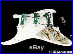 Fender Dave Murray Strat LOADED PICKGUARD Stratocaster Duncan Hot Rails & JB Jr
