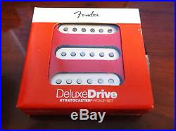 Fender Deluxe Drive Loaded Strat Pickguard Parch on Aged Pearl OrAnyColor USA