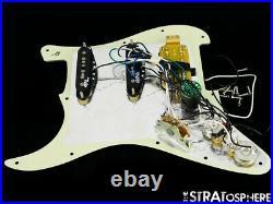 Fender Deluxe HSS Strat LOADED PICKGUARD Stratocaster Noiseless Pickups S-1 Mint