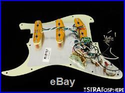 Fender Elite Series Stratocaster LOADED PICKGUARD Strat S1 Noiseless USA Mint
