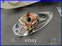 Fender Eric Clapton Strat LOADED PICKGUARD Gold Lace Pickups TBX & Mid Boost USA