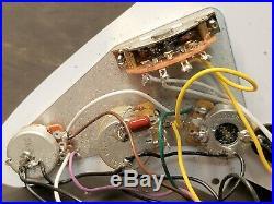 Fender Eric Clapton Strat LOADED PICKGUARD Noiseless Pickups TBX & Mid Boost USA