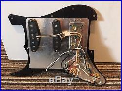 Fender HSS Stratocaster LOADED PICKGUARD Alnico Pickups, Pots, Switch Etc, Strat