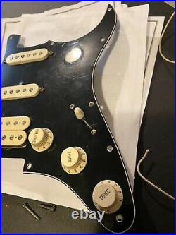 Fender HSS USA American Loaded Pickguard Off A Fat Strat / Deluxe. DH1 Humbucker