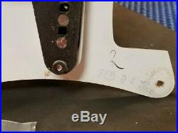 Fender Highway One Strat Pre-wired Guitar USA Pickups LOADED PICKGUARD Relic