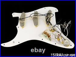 Fender Jimi Hendrix Strat LOADED PICKGUARD Stratocaster USA Guitar Prewired