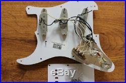 Fender Jimi Hendrix Strat LOADED Pickguard Stratocaster USA,'65 Pickups Reverse