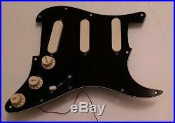 Fender Lace Sensor Gold pickup loaded Stratocaster Plus pickguard Strat Pat 80's