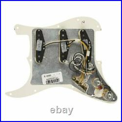 Fender Loaded Pre-Wired Strat Pickguard Custom Shop Texas Special SSS Parchm