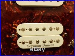 Fender Lonestar Strat Loaded Pickguard Texas Specials Duncan Pearly Gates Plus
