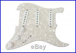 Fender Original 57 / 62 Pickup Loaded Strat Pickguard White on White Pearl 11hol