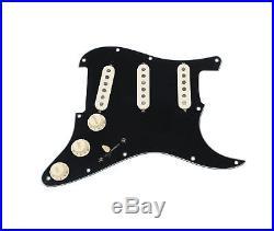 Fender Original'57/'62 Strat Loaded Pickguard Black / Aged White