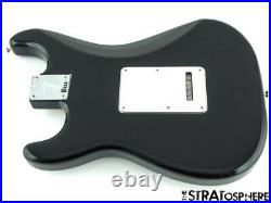 Fender Player HSS Stratocaster Strat LOADED BODY Black with Tortoise Pickguard