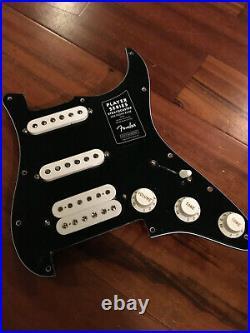 Fender Player Humbucker Hot Alnico Strat Pickups Loaded Floyd Tux Pickguard HSS