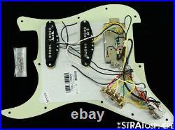 Fender Player Plus Series Strat HSS LOADED PICKGUARD PUs Stratocaster Noiseless