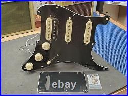 Fender Player Stratocaster LOADED PICKGUARD HSS for Humbucker Strat Black Relic