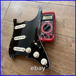 Fender Pure Vintage 56 Pickup Set PIO Cap Prewired Loaded Strat Pickguard