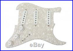 Fender Pure Vintage 65 Pickups Loaded Strat Pickguard White Pearl Or Any Color