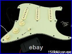 Fender Roadhouse Stratocaster LOADED PICKGUARD Noiseless Strat S-1 + V6 Rotary