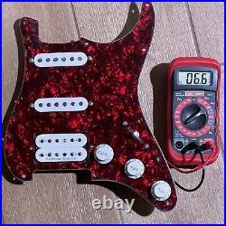 Fender Seymour Duncan HSS PIO Strat Set 56 SSL-1 SH-11 Loaded Prewired Pickguard