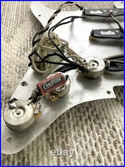 Fender Seymour Duncan Jimi Hendrix Loaded Stratocaster Pickguard Strat! #103203