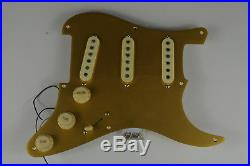 Fender Squier Classic Vibe 50's Strat LOADED PICKGUARD Gold Anodized ALNICO