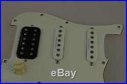 Fender Squier Vintage Modified Strat LOADED PICKGUARD HSS Duncan Alnico PUs 9500