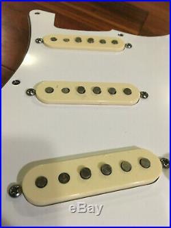 Fender Strat AV'65 Jimi Hendrix Signature Pickups Loaded Pickguard Stratocaster