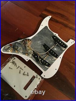 Fender Strat Custom Shop Fat'50s Pickups Stratocaster Loaded Pickguard