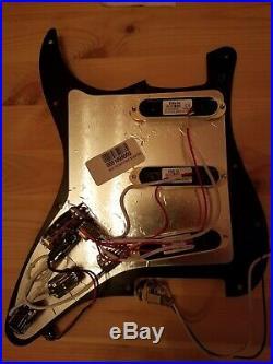 Fender Strat Loaded Pickguard EMG SA Single Coil Active Pickups