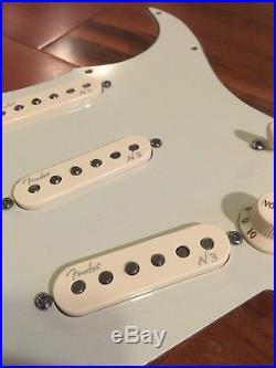 Fender Strat Stratocaster N3 Noiseless Pickups S-1 Loaded Pickguard Assembly